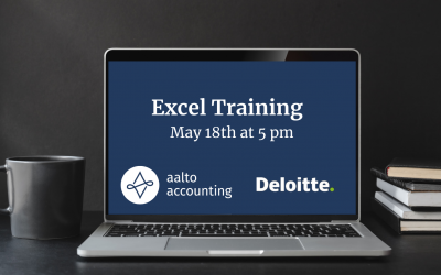 (PAST) Excel Training with Deloitte on 18th of May