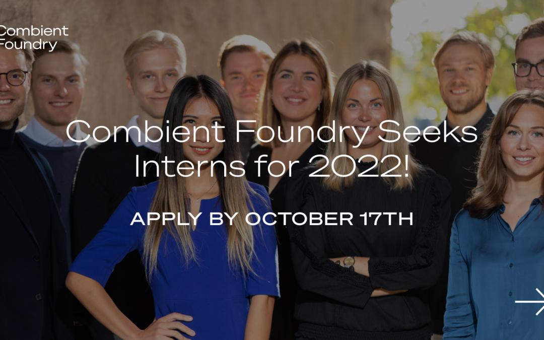 Combient Foundry: Venture Client Internship